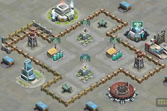 敢达前线指挥官3级保护资源阵型(万字阵)