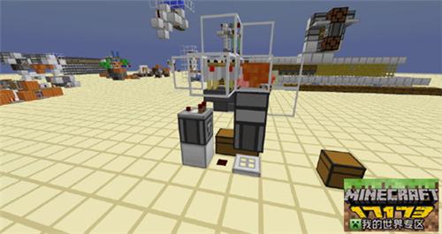 我的世界侦测器单片烤鸡机制作教程及解析
