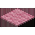 粉红色地毯
