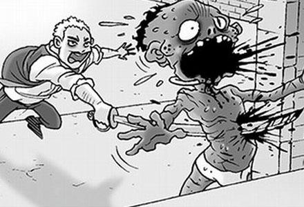 无声恐怖漫画三则:《坏奴隶》《卷纸》《屋顶的女孩》
