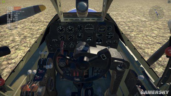 零式飞机座舱模拟游戏