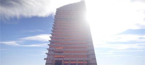 我的世界1.9电视大厦建筑存档下载