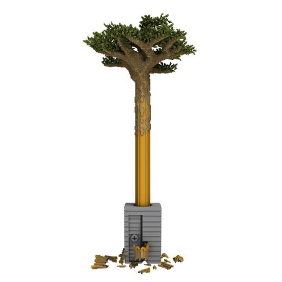 我的世界创意环保作品 自然森林的消失