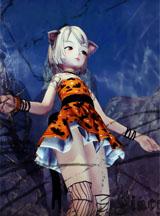 剑灵模型组美女版主原创 灵女万圣节模型