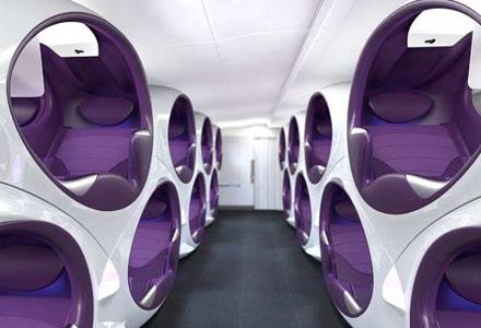 想想就有点小激动呢~未来飞机上会出现的6大客舱体验