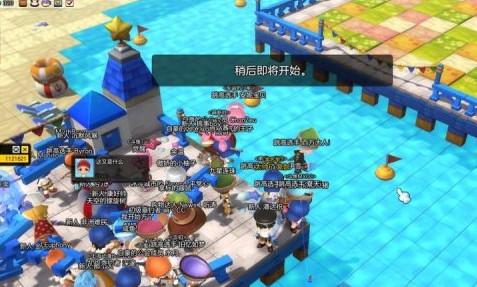 要上天吗 冒险岛2弹簧海滩小游戏玩法