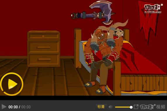 炉石传说欢乐小动画  蓝龙德对战动物园