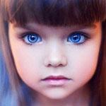 眼睛太美了!俄罗斯5岁大眼超萌萝莉