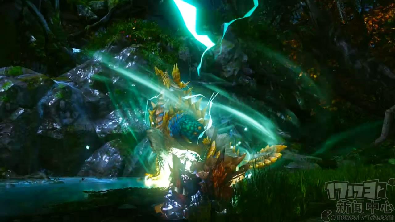 雷龙龙最大的特点在于,可以利用附着于身的超电雷光虫,来使自己的