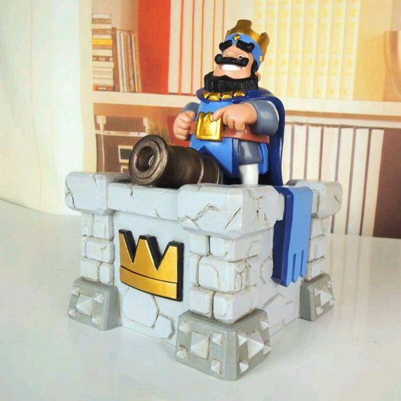 酷炫又实用!玩家自制皇室战争国王塔模型