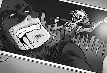 无声恐怖漫画:《制裁》《发臭》