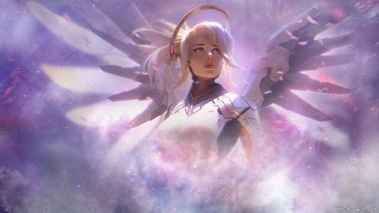 守望先锋信仰玩家心得分享:天使的治愈之光!