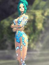 17173大神制作人女极模泳衣《水立方》