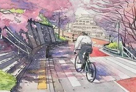 """波兰插画家""""回到50年前东京""""的复古插画 《你的名字》精美背景就是他画的!"""