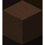 棕色染色粘土