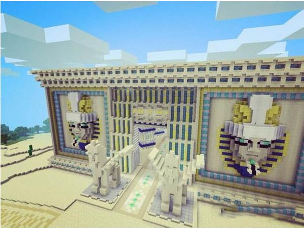 我的世界失落的奥西里斯神殿建筑欣赏