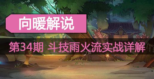 阴阳师向暖解说第34期 斗技雨火流实战详解