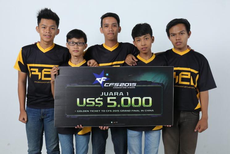 CFS世界总决赛印度尼西亚赛区TREU FXN eSport 晋级