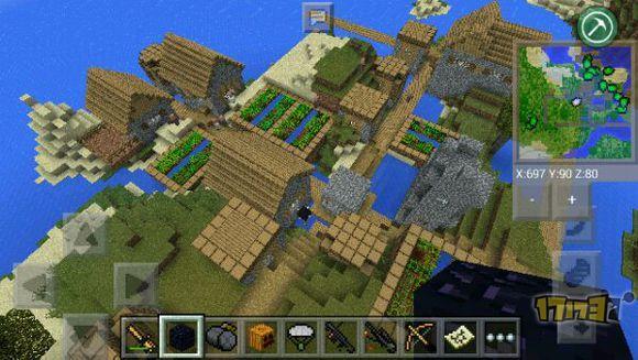 我的世界手机版0.15.0村庄地图种子下载