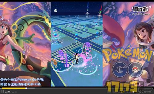 Pokemon Go精灵宝可梦GO游戏实况 游戏解说