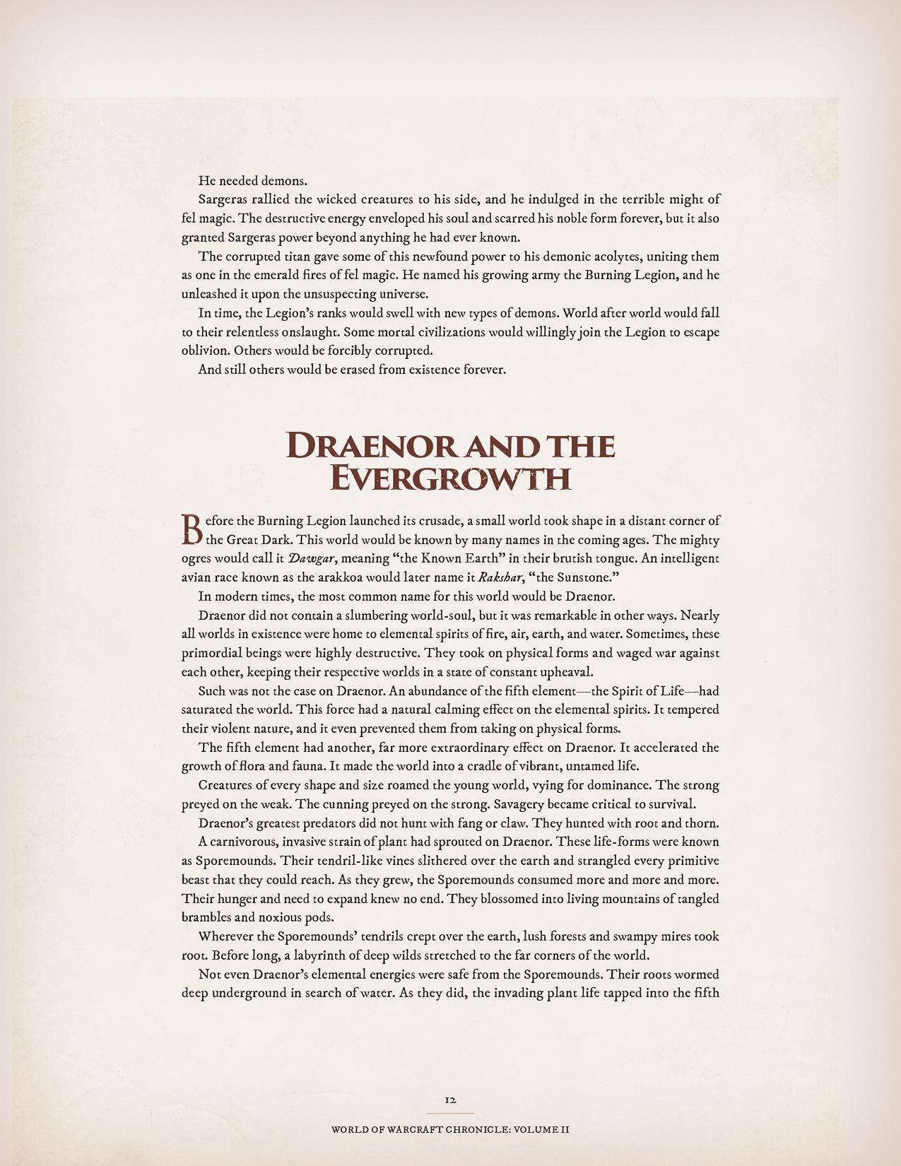 下个月!《魔兽世界编年史:第二卷》推出