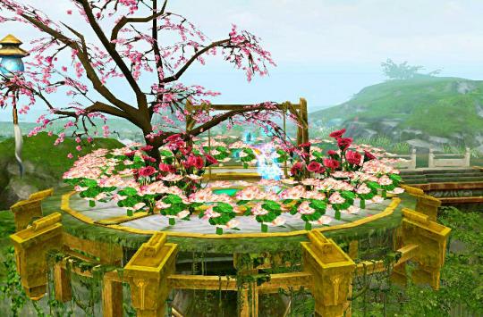 倩女幽魂妖灵城家园摆设图图片