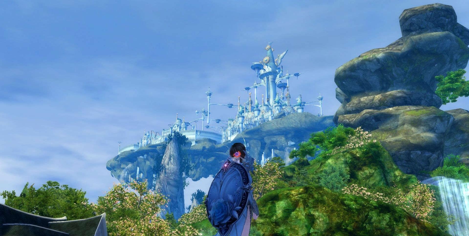 永恒之塔风景展 仰望神圣之地极乐世界
