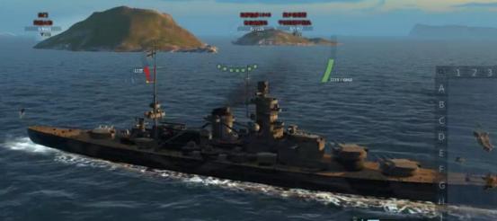 海战世界D系七级战列舰