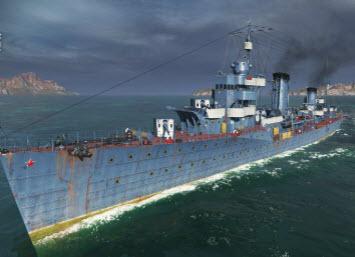 战舰世界0.6.1版本 5级苏驱 Podvoisky