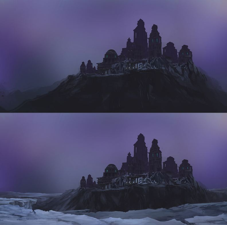 WOW7.1 原创作品:外国玩家绘制唯美夜空下的奥杜尔,一起来看下吧!   奥杜尔作为魔兽中最经典的副本,是一个隐秘的在石头和冰层下的神秘区域,它虽然是风暴巨人的堡垒,但并不是他们建造的,奥杜尔是一个泰坦城市,在7.0军团在林中奥杜尔的剧情得到了补充。 下面就让这幅作品吧,welcome to 奥杜尔。