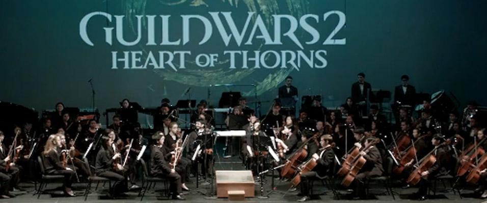 《激战2》 Guild Wars 2 荆棘之心 音乐会