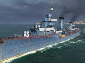 战舰世界0.6.1版本 5级金币苏驱 猎人