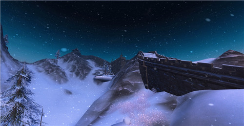 正是冬末看雪时 剑三风景雪景盘点3_剑网3剑网三 风景