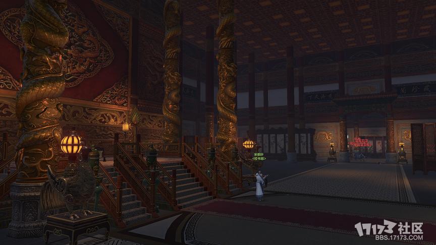 皇宫不再神秘 夜探皇宫崇元殿实拍内景图片