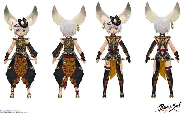 欧美剑灵服装设计比赛活动作品汇总
