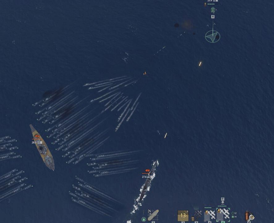 战舰世界鱼雷的威力 被驱逐鱼雷命中的惨剧