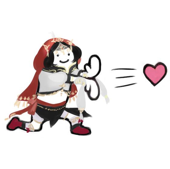 萝莉成男成女 剑网3比心劈心表情包来袭