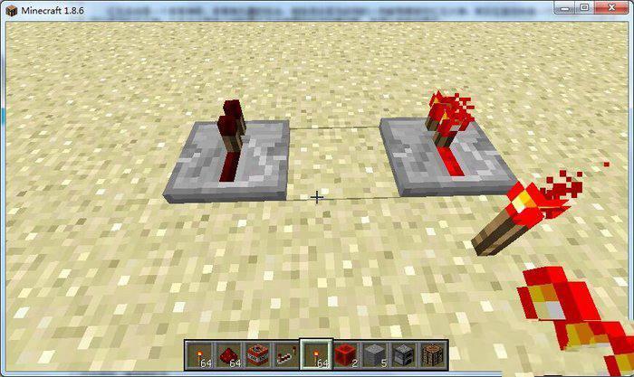 红石电路用法攻略之红石中继器延迟功能