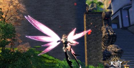 一秒变身花仙子 《天谕》蜻蜓翅膀展示