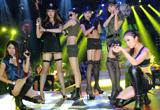 新疆赛区美女云集 美女coser与美女玩家战队