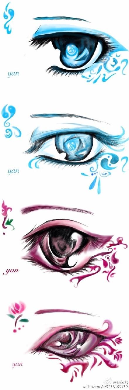 剑网三大触教你画眼睛 各种眼睛美美哒