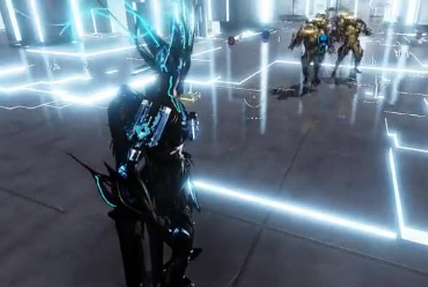 星际战甲 战甲神兵-铁晶磁轨炮