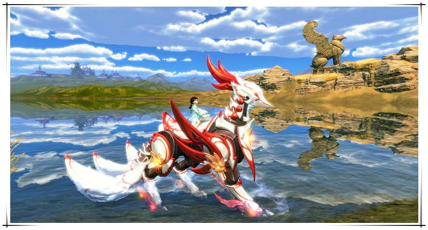 女神节为她点赞,晴明白狐伴你驰聘江湖
