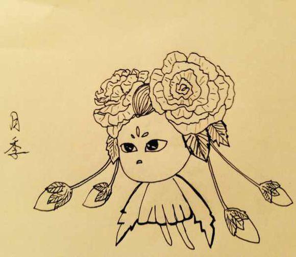 问道灵魂画师 宠物钢笔画展示