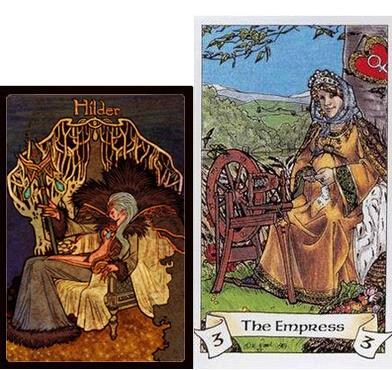 > 所有使徒塔罗牌形象解读 对应塔罗牌寓意猜想       ---皇后(含义