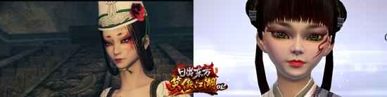 《笑傲江湖OL》玩家捏脸图集引围观