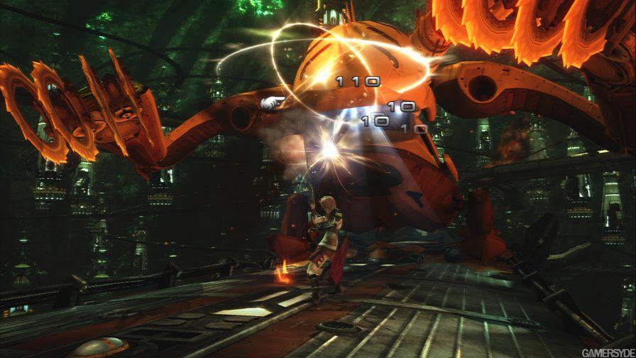 最终幻想13繁体中文无动画版图集