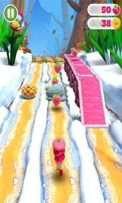 草莓女孩跑酷截图