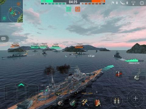战舰世界:闪电战截图第8张