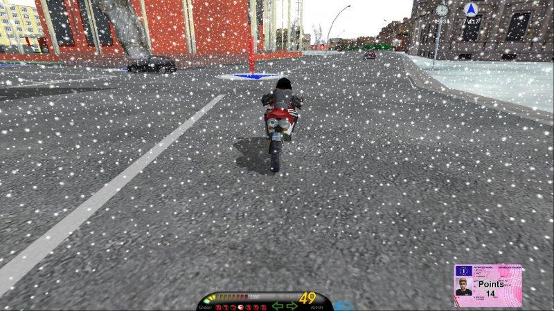 安全驾驶模拟器:摩托车截图第6张